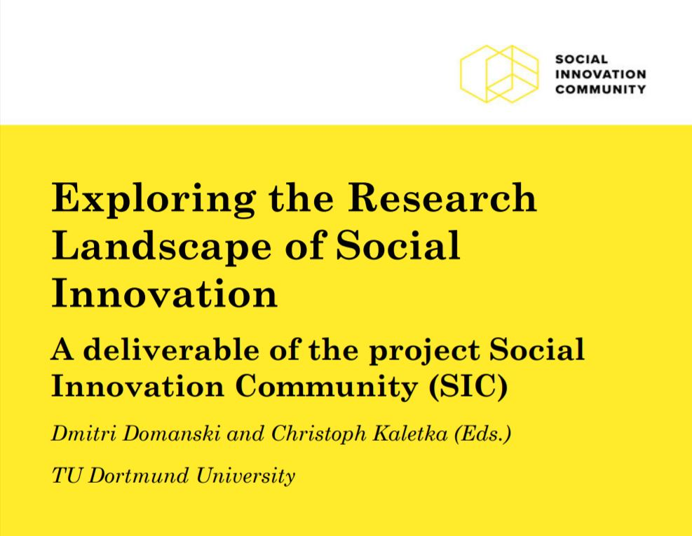 Exploring the Research Landscape of Social Innovation